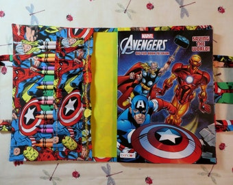ADVENGERS Take Everywhere Coloring Book