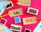 Personalised First Name Rubber Stamps Personalized Custom Stocking Stuffer Filler