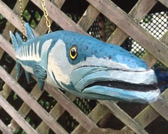Baracuda woodcarving