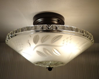 Antique CEILING LIGHT with Semi-Flush Mount