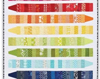 COLOR ME Quilt Pattern- PDF