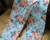 Girls Flower Leggings