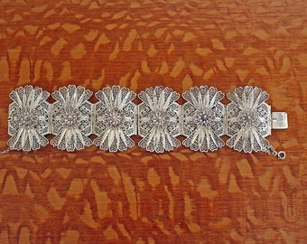 Filigree Bracelet 900 Silver Egyptian