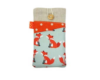 Fox iPhone 6 Case,  iPod Touch 6, iPhone 6S Plus Sleeve, iPhone 5 Case, iPhone 6S Cover,  iPhone 6 Pouch, iPhone 6S Sleeve, iPhone 6S Case
