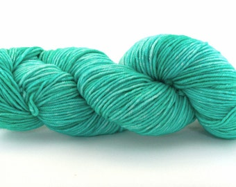 Hand Dyed Superwash Merino - Teal me your secrets