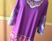 Harry and The Hippe Chic One Of A Kind Bohemian Bell Sleeves Tunic Dress