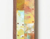 37 X 3 Copper and Metal Wall Strip