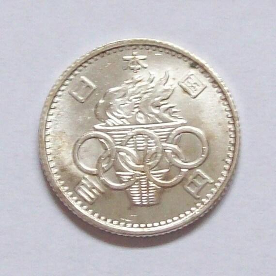 Tokyo Olympics 1964 - Silver 100 Yen Coin