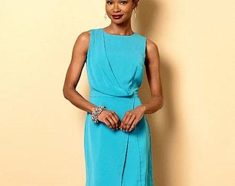 Straight Dress Pattern - Butterick Sewing Pattern 6240