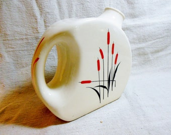 Cattail Pitcher One Quart  Refrigerator, Disc, Sears & Roebuck Univerisal Pottery
