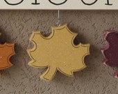 MONTHLY WELCOME LEAVES Decorations (no sign included) for wall and home decor