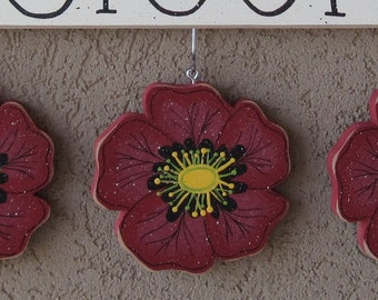 MONTHLY WELCOME POPPY Decorations (no sign included) for wall and home decor