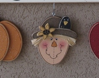 Monthly welcome  Pumpkin, Scarecrow, Apple Decorations (no sign included) for wall and home decor