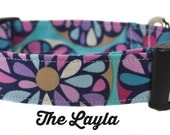 The Layla - Floral Dog Collar