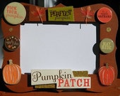 Pumpkin Patch Autumn Fall Picture Photo Frame 4x6