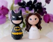 Custom Wedding Batman cake toppers
