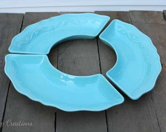 Maurice of California Lazy Susan Dishes Set of 3