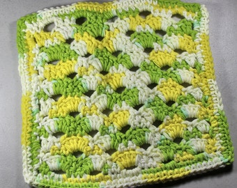 Lemon and Lime Dishcloth