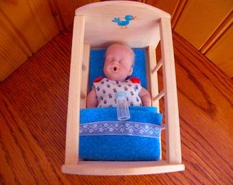 Barbie Baby, Cradle  1:6 scale