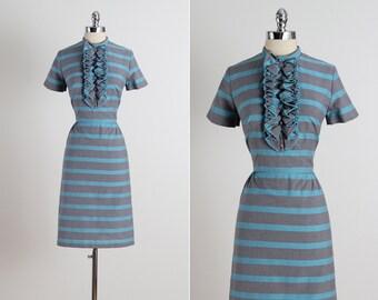 Stacy Ames . vintage 1950s dress . vintage cotton dress . 5311