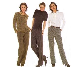 Womens Pants Pattern Burda 8283 Sewing Pattern UNCUT Factory Folded Multi Sized Size 10 12 14 16 18 20 22 24