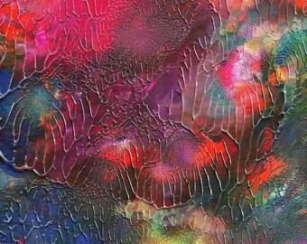 Serenity Path Abstract Acrylic Original Painting