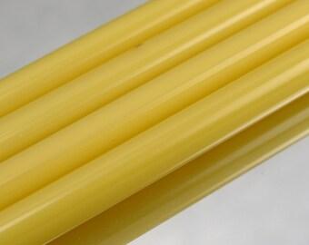 8400-0 Czech Pearl Yellow Shampoo Glass ~96 COE - 1/4 pound