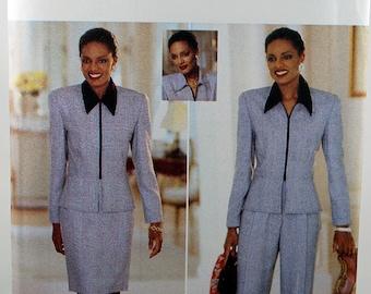 Butterick 4633, Misses' Jacket, Skirt and Pants Pattern, Sewing Pattern, Misses' Size 6, 8, 10, Uncut