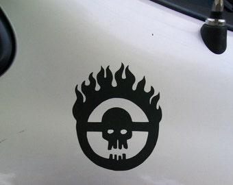 Fury Road Citadel Immortan Joe vinyl decal sticker