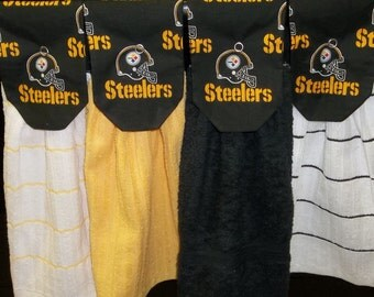 Hanging Kitchen Towels - NFL - Pittsburgh Steelers