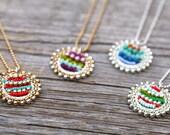 Sundial Necklace, Bohemian Jewelry, Boho Chic