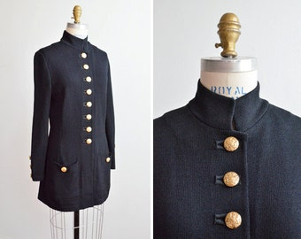 SALE / Vintage 1980s ST JOHN knit sweater coat