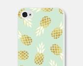 Samsung Galaxy S6 Case - Pineapple iPhone 6 Case - Samsung Galaxy S5 Case - Pineapple iPhone 6s Case - Tropical iPhone 5 Case iPhone 5c Case