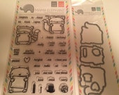 Mama Elephant Stamp and Die Set