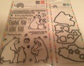 New Mama Elephant Stamp and Die set
