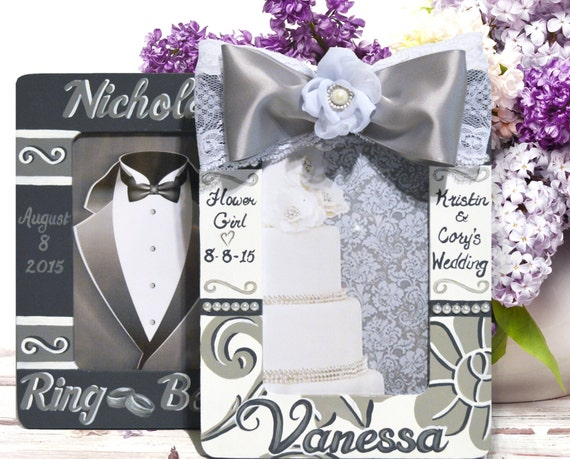 Personalized Flower Girl & Ring Bearer Frames