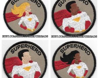 Superhero Geek Merit Badge Patch