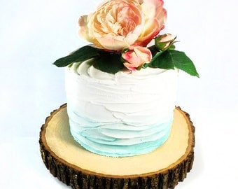 """12"""" Tree Slab Cake Stand"""