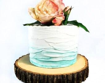 """11"""" Tree Slab Cake Stand"""