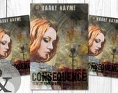 "Premade Digital Book eBook Cover Design ""Consequence"" Fiction Young New Adult YA Romance Fantasy Thriller"