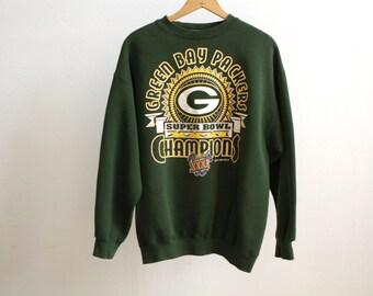 GREEN BAY PACKERS nfl football 90s sweatshirt