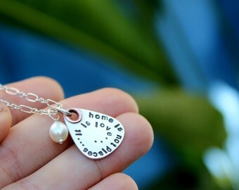 Soundtrack Necklace - Petite Lyrics Guitar Pick Necklace