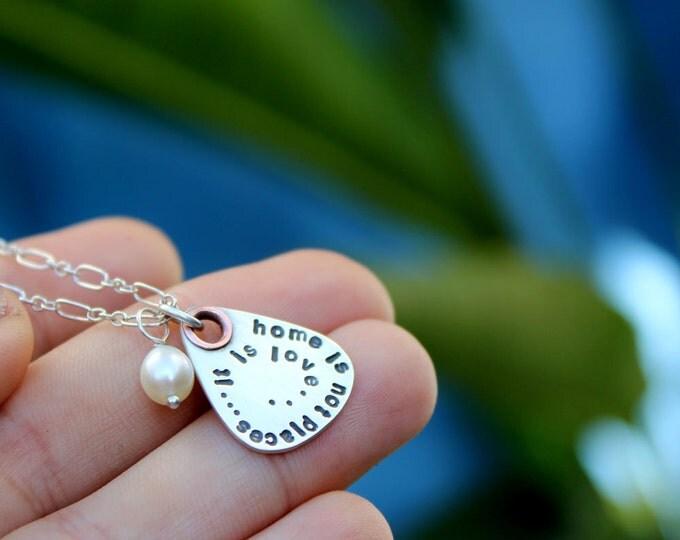 Soundtrack Necklace - Petite Lyrics Guitar Pick Necklace