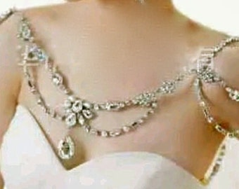 Bridal Rhinestone Jewelry, Bridal Crystal Jewelry