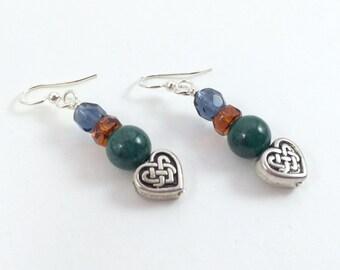 Outlander Inspired Celtic Love Earrings
