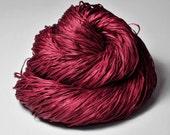 Poisoned blood OOAK - Silk Tape Lace Yarn - SUMMER EDITION