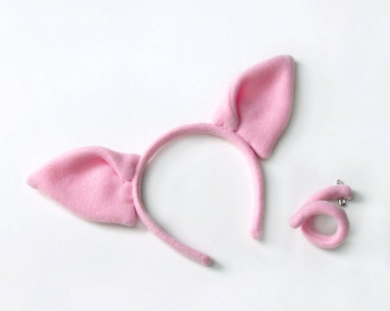 Fur pig like ears on a fur covered headband. Sometimes its the little things that you forget when planning the ultimate fancy dress costume, and thats why we have things like these Pig Ears Price: