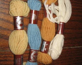4 Skeins DMC Laine Colbert Tapestry Wool Yarn