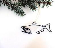 Salmon Fish Ornament