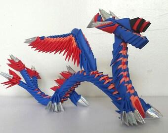 3D origami dragon 2